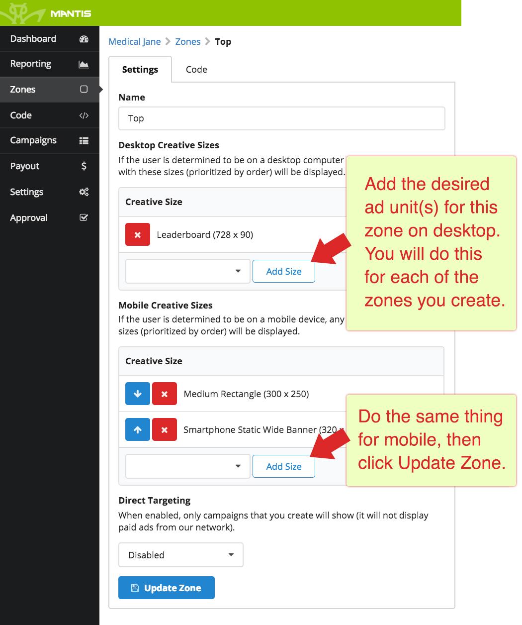 How do I integrate display ads into my website? - MANTIS Ad
