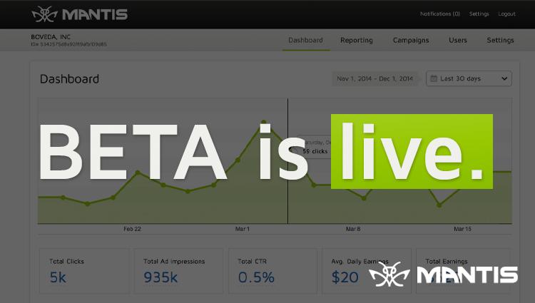 beta is live